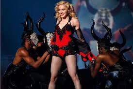 Madonna and the dancing devils