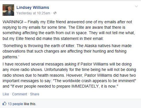 Lindsey William_Crash imminent