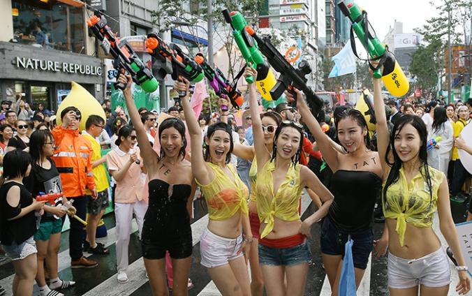 water gun festival