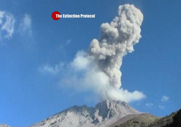 Ubinas Volcano